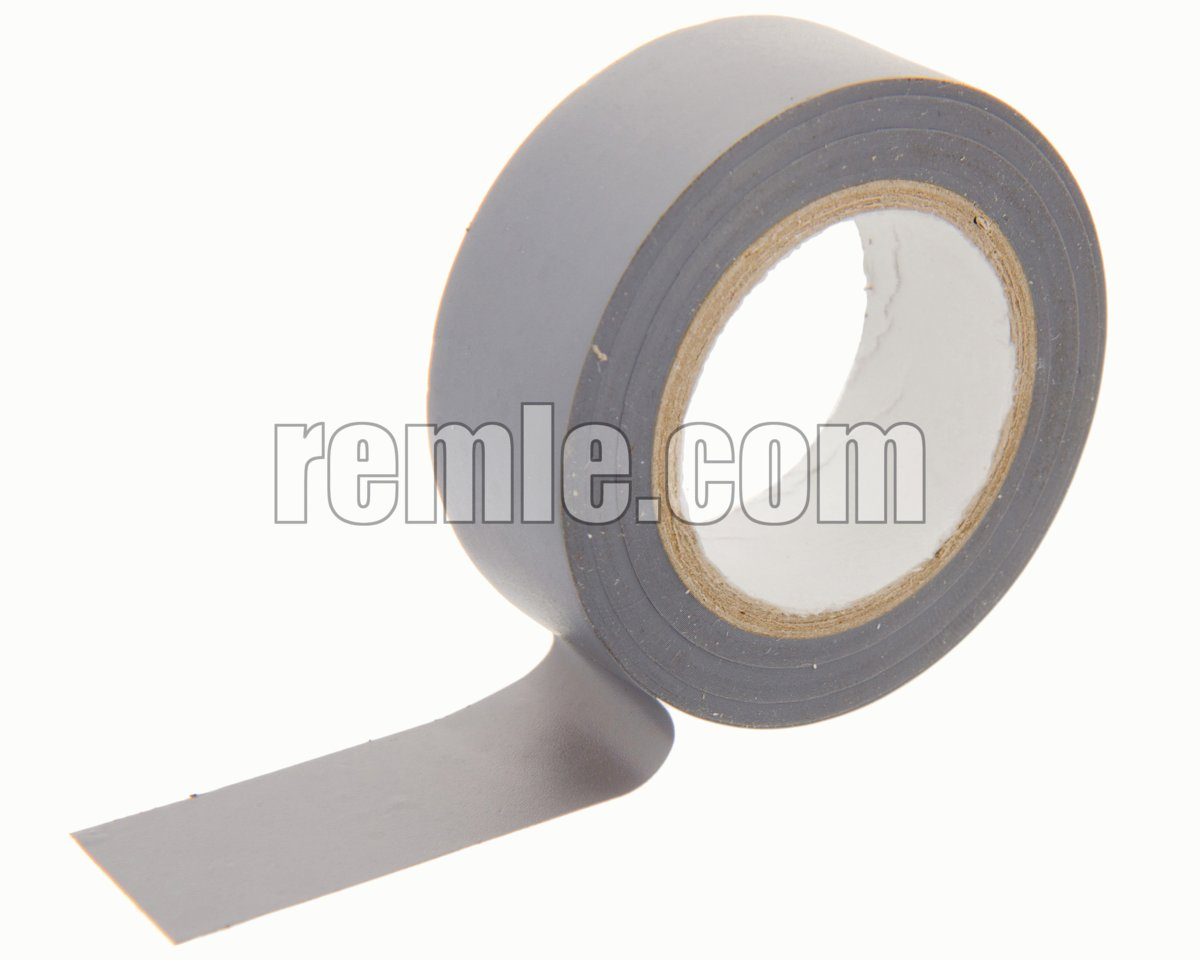 CINTA AISLANTE 19 mm. x 10 METROS GRIS