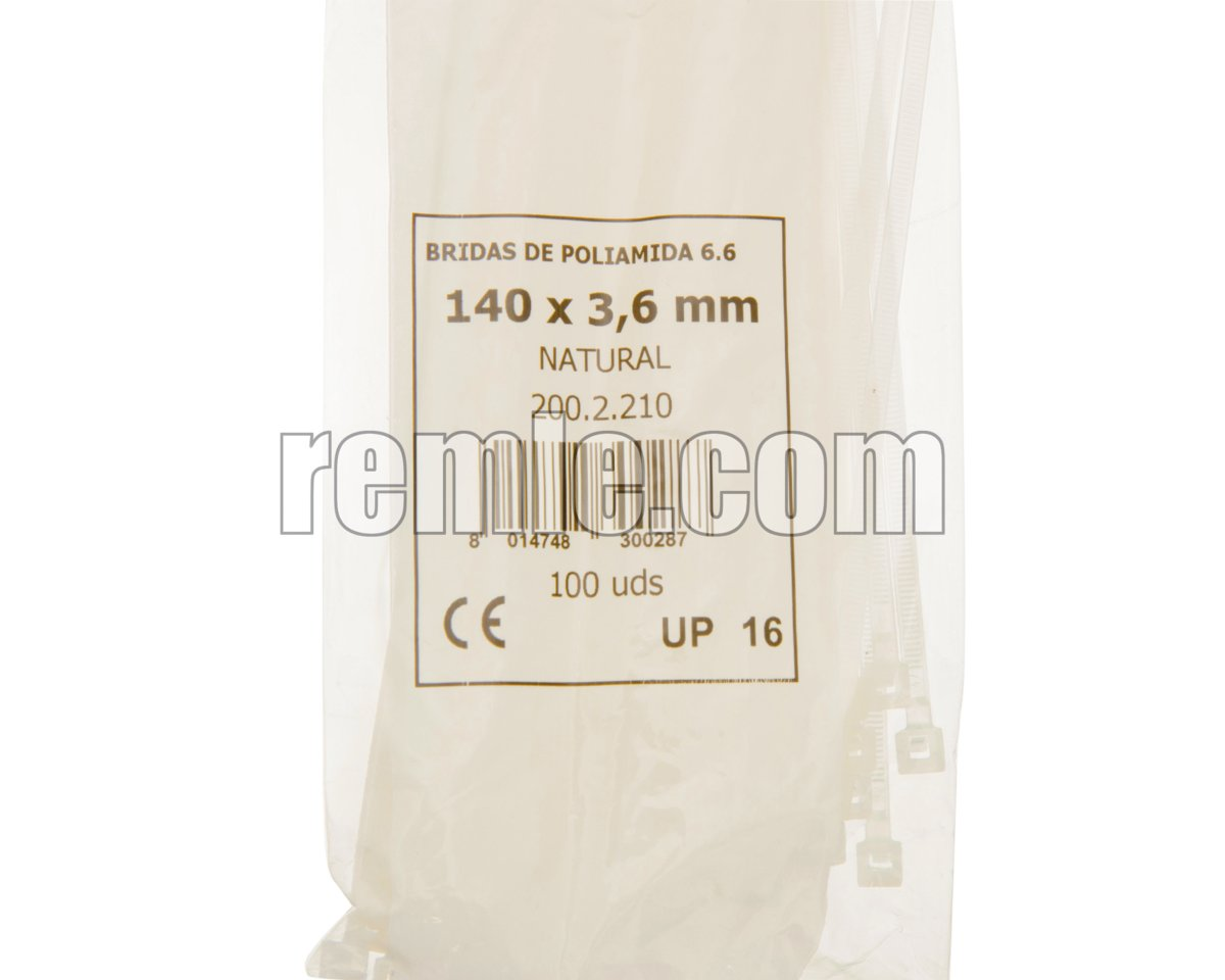 ABRAZADERA NYLON 4,6X300 mm.(1b=100unid)