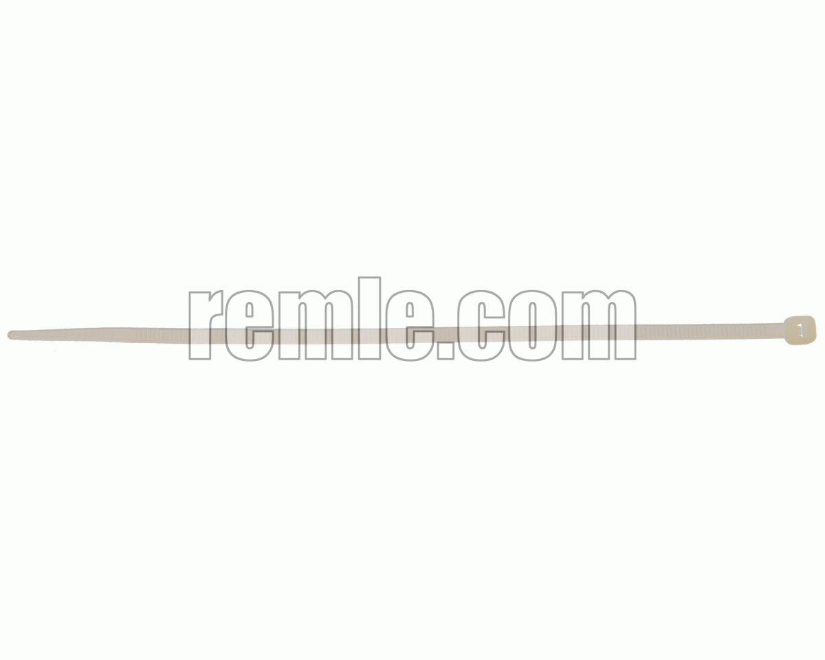 ABRAZADERA NYLON 4,0X120 mm. BLANCA