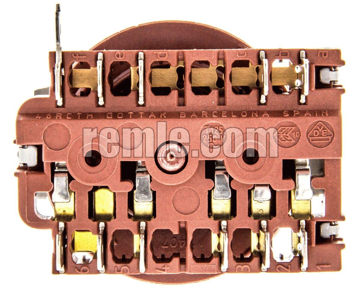 SELECTOR HORNO TEKA HE-450/490