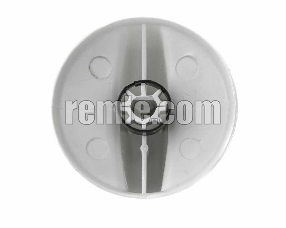 MANDO ENCIMERA TEKA EJE 5,5 mm.BLANCO