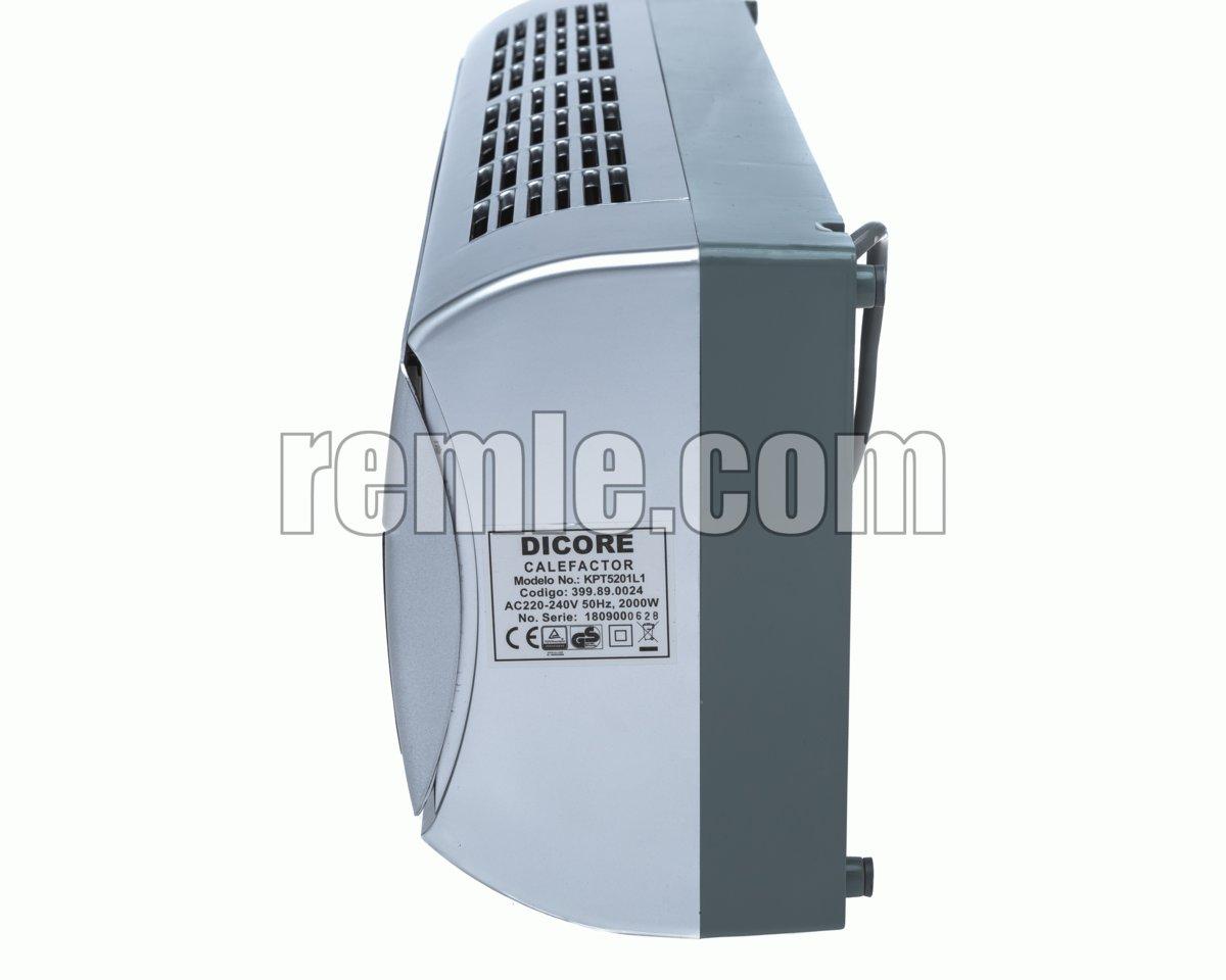 DICORE CALEFACTOR ELECTRICO KPT5201L1 n