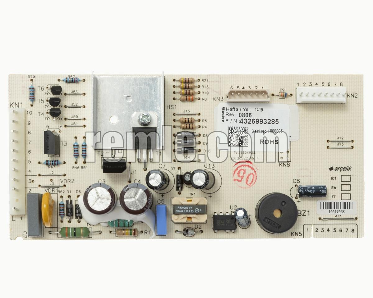 PLACA CONTROL FRIGO BEKO 4326993285