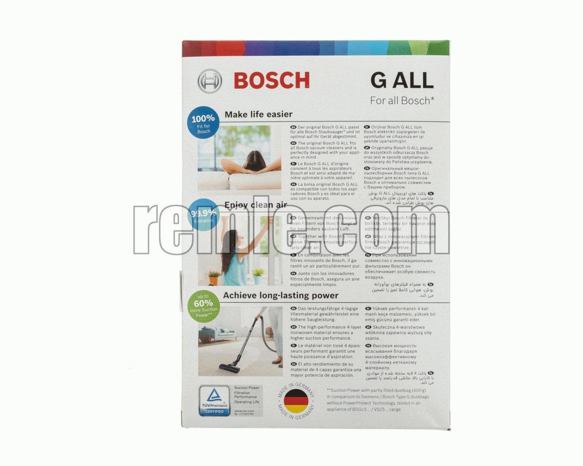 BOLSA ASPIRADOR BOSCH BSB208109