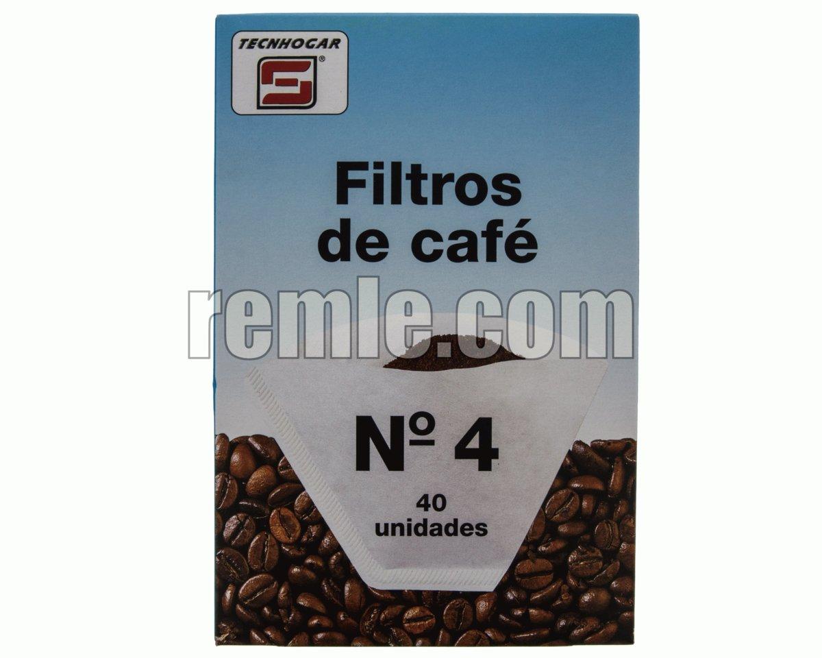 FILTRO CAFETERA ELÉCTRICA 1-4 TAZAS 40 U