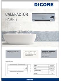 Calefactores DICORE